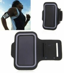 Zwarte GadgetKing Sportband iPhone 7 PLUS & iPhone 8 PLUS & iPhone X / Xs / iPhone 10 / iPhone 10s / iPhone 11 Pro Max hardloop sport armband
