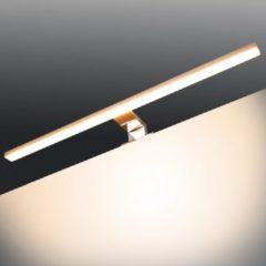 Zilveren VidaXL Spiegellamp 8 W warm wit