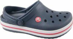 Crocs Crocband Clog K 204537-485, Kinderen, Marineblauw, Slippers maat: 38/39 EU