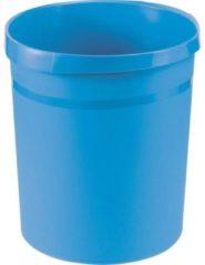 HAN Grip 18190-54 Papiermand 18 l (Ã x h) 312 mm x 350 mm Polypropyleen Lichtblauw 1 stuk(s)