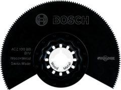 Bimetaal Segmentzaagblad 100 mm Bosch Accessories ACZ 100 BB 2608661633 Geschikt voor merk Fein, Makita, Bosch, Milwaukee, Metabo 1 stuks