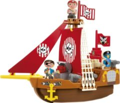 Ecoiffier Abrick Piratenschip Set