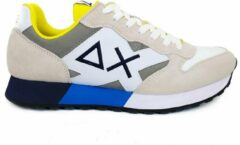 Beige SUN68 Sneakers jaki bicolor bianco