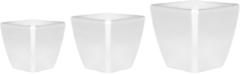 Zilveren Beliani ASTRAS - Bloempot - - Klei-vezelmengsel