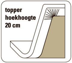 Cevilit Maxima - Topper hoeslaken - bruin 180/200-220