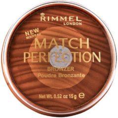 Bruine Rimmel London Bronzing Powder Match Perfection 003 Medium/Dark