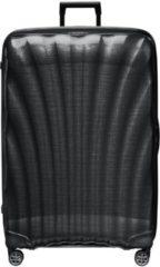 Zwarte Samsonite C-Lite Spinner 86 black Harde Koffer