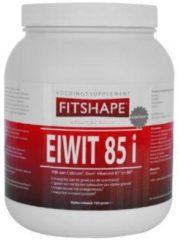 Fitshape Eiwit 85% Aardbei - 750 gram - Eiwitshake