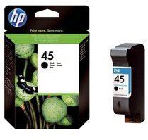 HP 45 - Inktcartridge / Zwart (51645AE) blisterverpakking