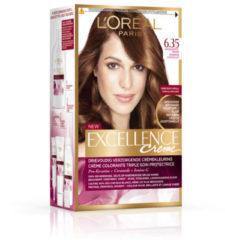 L'Oréal Paris L'Oréal Paris Excellence Crème 6.35- Hazelnootbruin - Haarverf