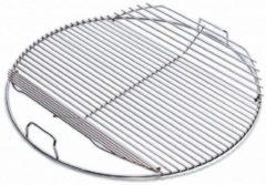 Zilveren Weber barbecuerooster - scharnierend - barbecues met een diameter van 47 cm