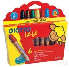 Kleurpotlood Giotto maxi 6 potloden
