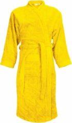 Classic Collection I2T Badjas badstof zonder Capuchon - Geel - L/XL - 340 gr/m²