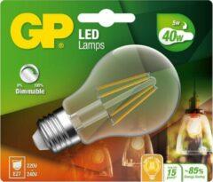 GP LIGHTING LED lamp E27 5W 470Lm peer filament dimbaar 078210