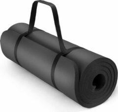Sens Design Fitness mat XL - Yogamat - 190x100x1.5 cm - Zwart