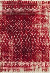 Impression Rugs Design Collection Loft Rood vloerkleed Laagpolig - 80x150 CM