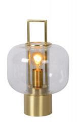 Lucide SOFIA - Tafellamp - Ø 24 cm - E27 - Mat Goud / Messing