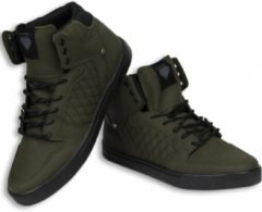 Groene Cash Money Cash M Heren Schoenen - Heren Sneaker High - Jailor Khaki - Maten: 41