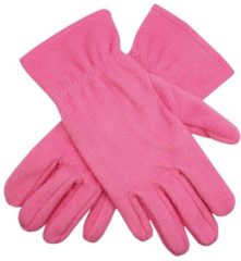 Bellatio Roze fleece handschoenen M/l