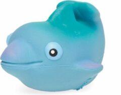 Blauwe Lanco Toys Lanco Rubberen badspeeltje baby - Dolfijn