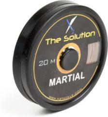 Bruine X2 Hengelsport X2 Onderlijnmateriaal - Martial Skin Muddy Brown - 15lb
