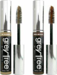 Giuliano - Grey Free Haarmascara - Medium Brown - 7,5 ml