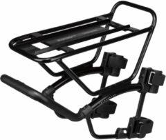 Zwarte Topeak TetraRack M1 MTB Fork Mount Rack - Dragers voor fietstassen