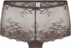 Donkerbruine LingaDore 1400SH DAILY LACE Hipster