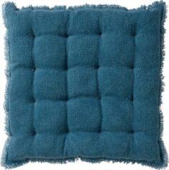 Dutch Decor Matraskussen Burto 40x40 cm Provincial Blue