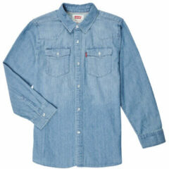Blauwe Overhemd Lange Mouw Levis BARSTOW WESTERN SHIRT