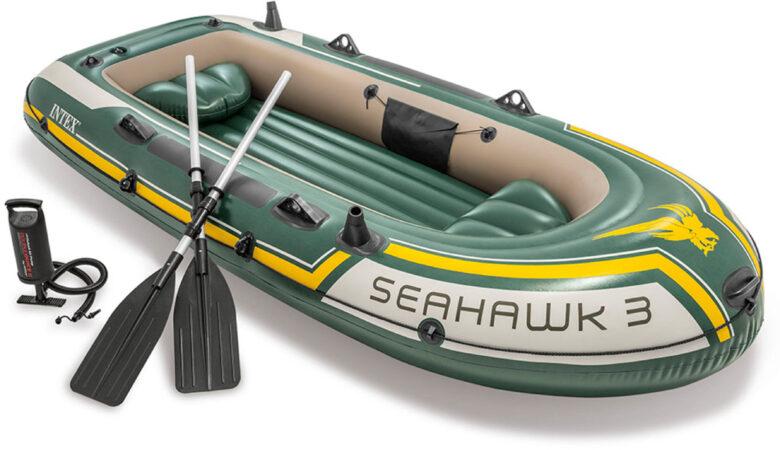 Afbeelding van Intex Seahawk 3-persoons Opblaasboot