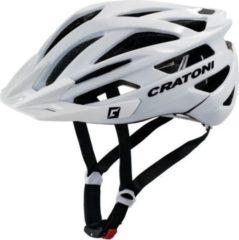 CRATONI 111003B1 Fahrradhelm Agravic (MTB) Gr. S/M (54-58cm), weiß/glanz (1 Stück)