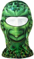 Groene Facemasks Bivakmuts - Oak Man
