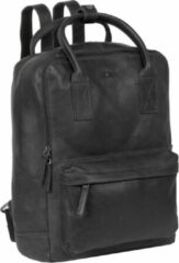 Zwarte Justified Bags Nynke Shopper Backpack Black XIX