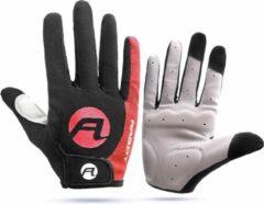 BikerVibes Fiets & Motor Handschoenen - Maat XL - Outdoor - Unisex - Rood