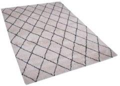 Beliani MIDYAT Vloerkleed Beige Polyester 140 x 200 cm