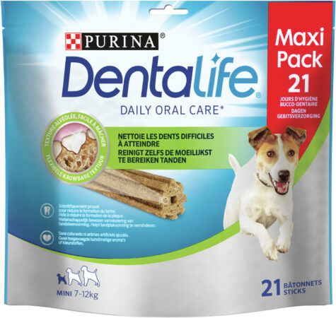 Afbeelding van Purina Dentalife Daily Oral Care Small - Hondensnacks - 345 g