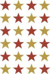 HERMA 3732 sticker Folie Goud, Rood Permanent 24 stuk(s)