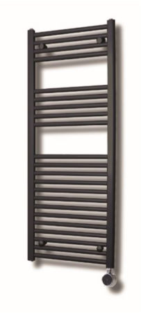 Afbeelding van Elektrische Design Radiator Sanicare Plug En Play 172 x 45 cm Zilver Grijs Thermostaat Chroom 920 Watt