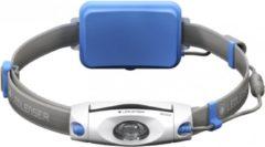 Blauwe Ledlenser NEO-6R Blauw - Jogging hoofdlamp & borstlamp in één - Oplaadbaar - Breedbeeldformaat - niet-verblindend - 240 lm