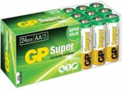 GP batterijen GP Batteries Super AA batterij (penlite) Alkaline 1.5 V 24 stuk(s)