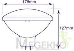 Velleman Halogeenlamp General Electric 300W / 240V, Par56, Gx16D, Wfl, 3000K, 2000H