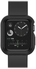 Zwarte Otterbox Exo Edge Case Apple Watch series 4/5 hoesje 44mm - black