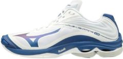 Mizuno - Wave Lightning 6 - Volleybalschoen - Heren - Wit/Blauw