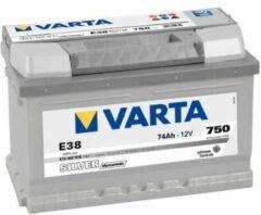 Varta SILVER Dynamic 574 402 075 3162 E38 12Volt 74 Ah 750A/EN Start Accu 4016987119792