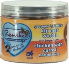 Renske Gezonde Beloning Hartjes 100 g - Hondensnacks - Kip&Wortel
