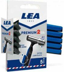 Postquam Lea Premium 2 Blades Disposable Blades 5 Units