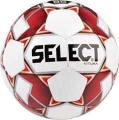 Select Vitura Trainingsbal - Wit / Rood | Maat: