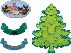 Groene JEM Cutters JEM Christmas Tree & Extras Set/5|Kerstboom, Speelgoed, Kind en Cadeautjes Uitstekers