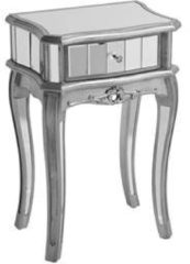 Zilveren Beliani Somma Dressoir Glas 34 X 48 Cm